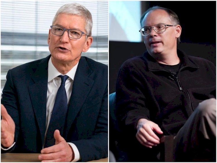 Read the 2 a.m. declaration of war Apple CEO Tim Cook got from the billionaire CEO behind 'Fortnite' before the companies head to court this week